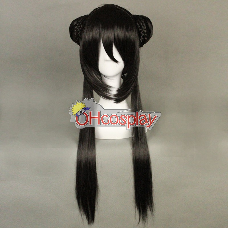 Chinese Style Black Wig 319A