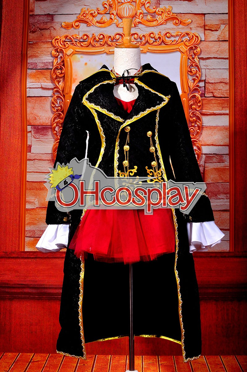 Ruler Vocaloid Meiko Cosplay Costume
