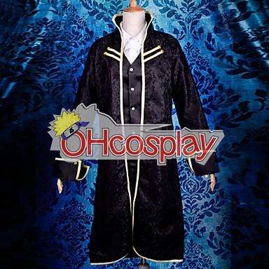 Vocaloid Len Black Uniform Cosplay Costume Deluxe Version