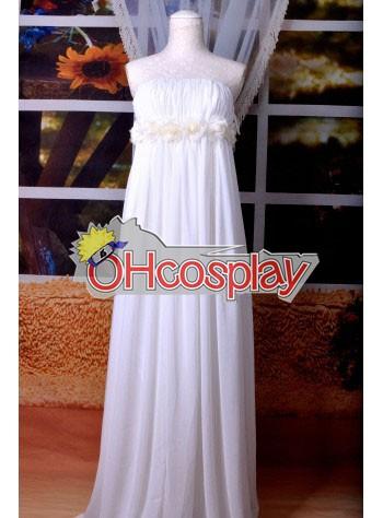 Macross Series Sheryl MF White Rabbit Lolita Cosplay Costume