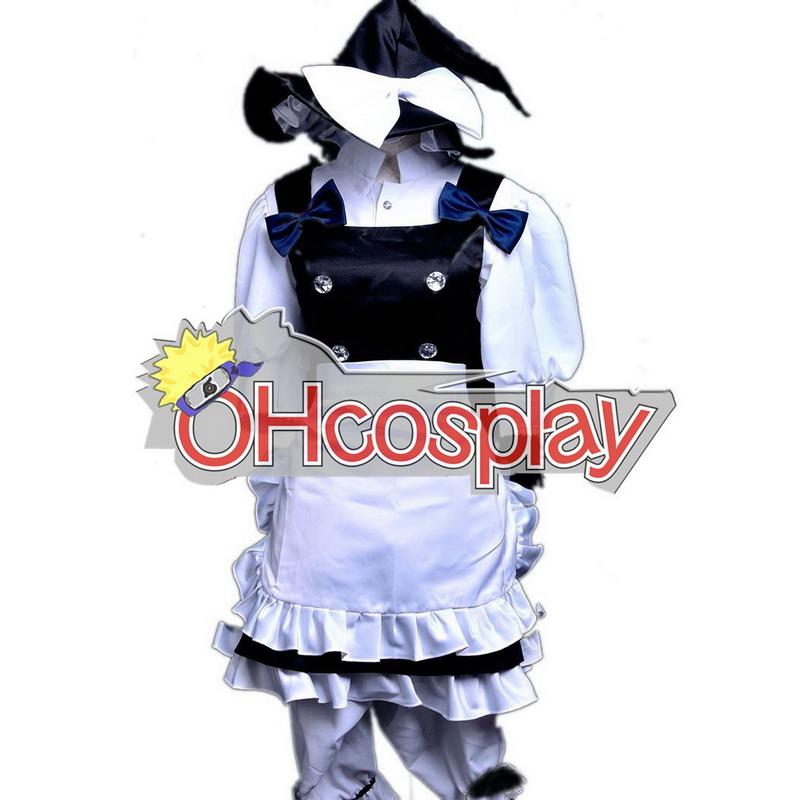 东方プロジェクトの衣装スカーレット天気ラプソディ霧雨魔理沙のコスプレ衣装