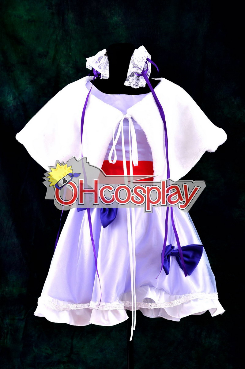 Macross Frontier Costumes Young Sheryl Nome Dress Cosplay Costume Deluxe