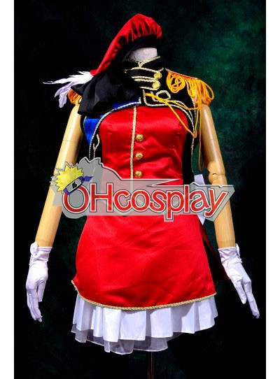 Macross Frontier Costumes Sheryl Nome Cosplay Costume Deluxe