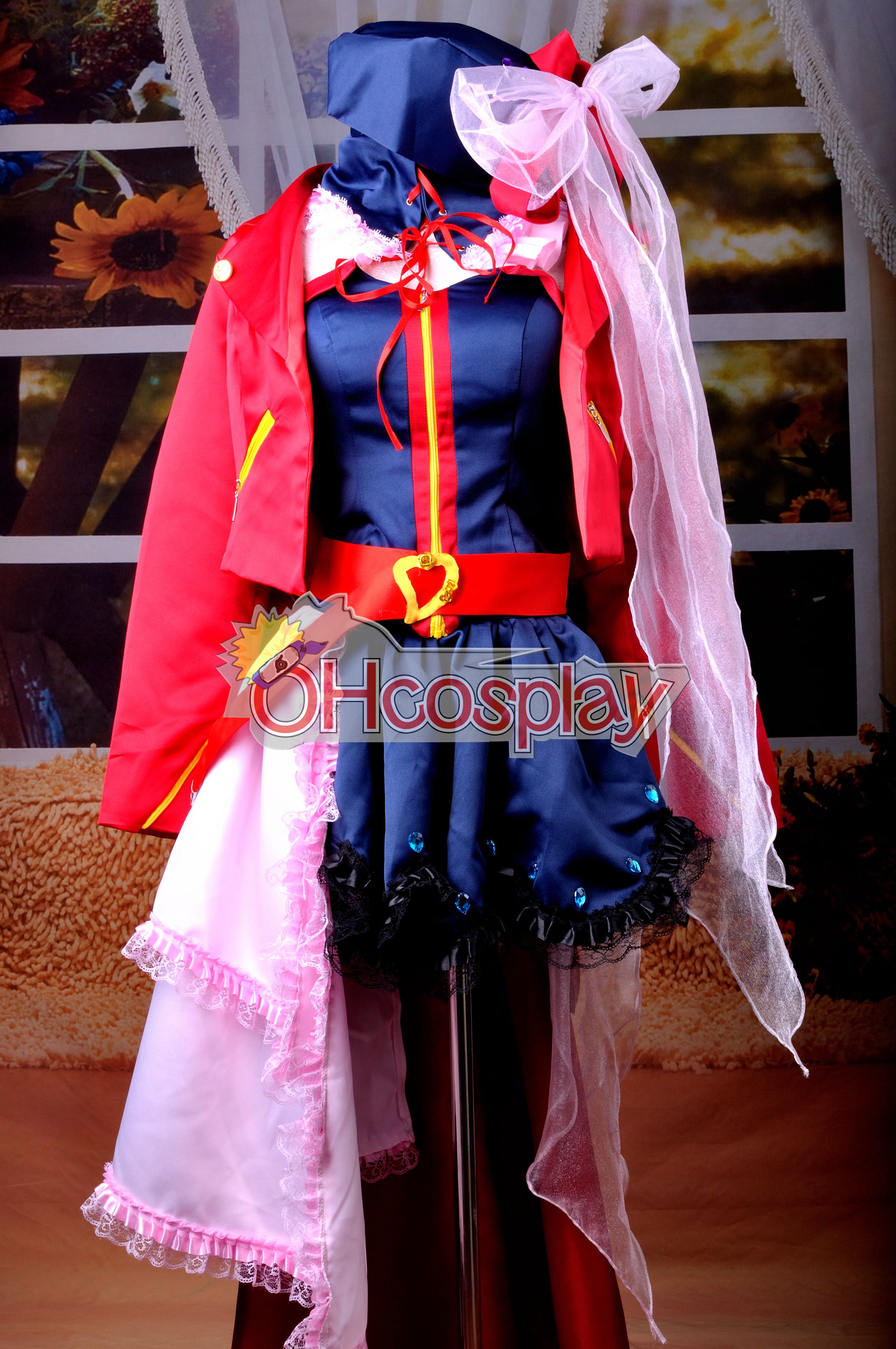 Macross Frontier Costumes Sheryl Nome Wish of Valkyria Ver. Cosplay Costume Deluxe