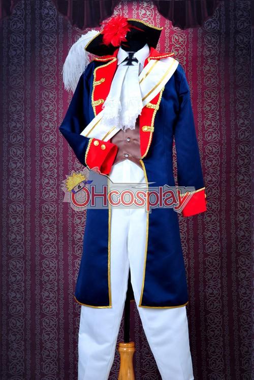 Axis Powers Hetalia Costumes -Prussia War Uniforms Cosplay Costume