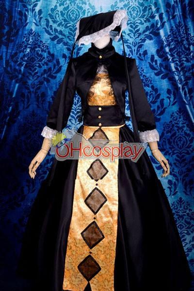 Sound Horizon Kurokiokaminoyado-Kannzoumusume Lolita Cosplay Costume Deluxe-KH14