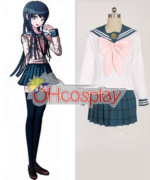Dangan Ronpa Costumes Sayaka Maizono School Uniform Cosplay Costume