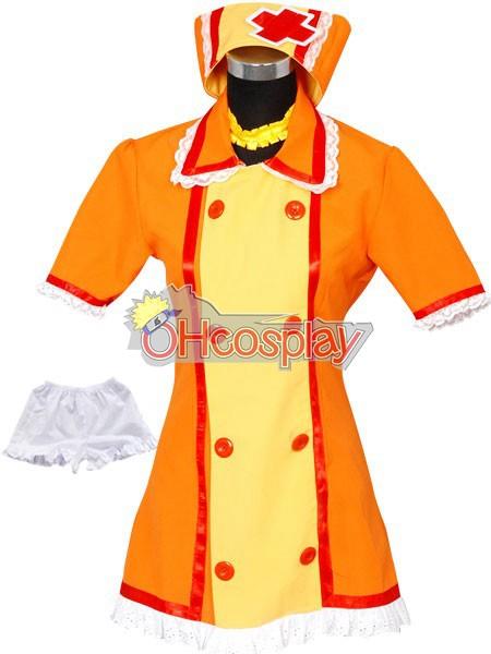 Vocaloid Kagamine Rin Nurse Cosplay Kostymer