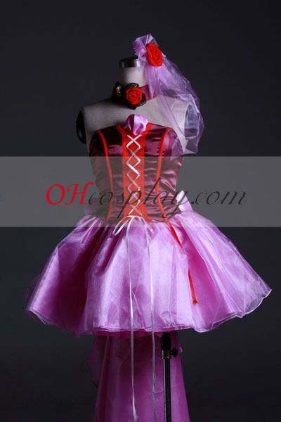 Macross Frontier Costumes Sheryl Nome Cosplay Costume-Cosplay Custom