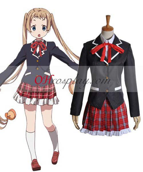 Love, Chunibyo & Other Delusions! Shitai Deicumoli Sanaei Cosplay Costume