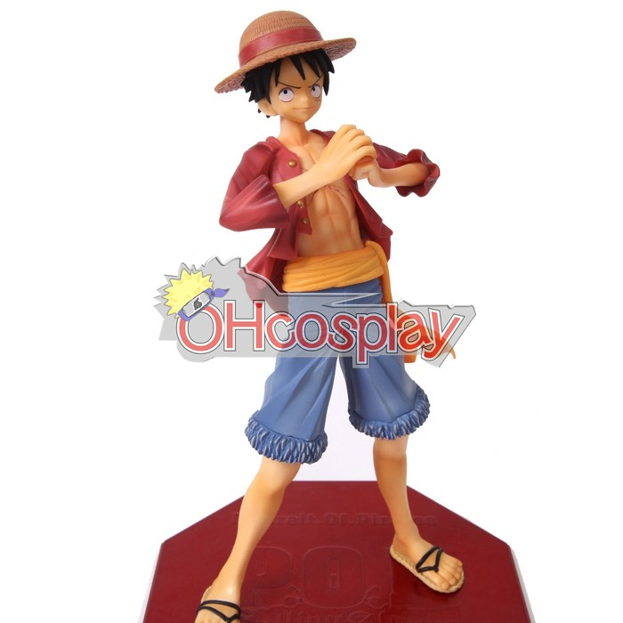 One Piece Puku luffy Hand-done Model Doll Anime Toys