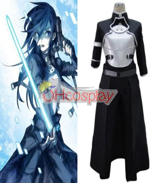 Disfraces Espada De Arte En línea (Online Pistola Gale) Mujer Kirito cosplay