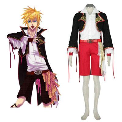 Luxusný Vocaloid Kagamine Len 2 Cosplay Kostýmy