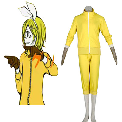Ylellinen Vocaloid Kagamine Rin 7 Cosplay Asut