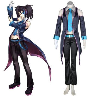 Luxusný Vocaloid Ruko 1 Cosplay Kostýmy
