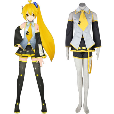 Deluxe Vocaloid Akita Neru 1ST Cosplay Costumes