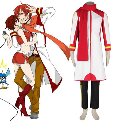 Deluxe Vocaloid Akaito 1ST Cosplay Costumes