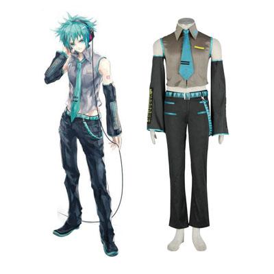 Luxe Vocaloid Hatsune Mikuo 1 Cosplay Kostuums