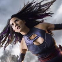 X Men Psylocke Purple Fighting Service Cosplay Puvut