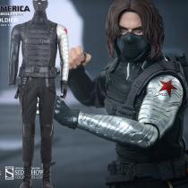 Fantasias Captain America Winter Soldier Cosplay