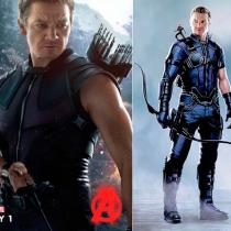 Fantasias Captain America Hawkeye Cosplay