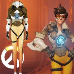 Ow Overwatch Tracer Cosplay Canada Zentai Suit Costumes