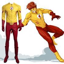 Flash New Man Yellow Cosplay UK Zentai Suit Costumes Halloween UK Costumes