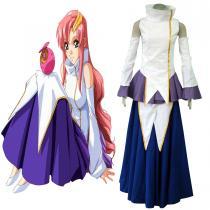 Fantasias Gundam Seed LACUS CLYNE1 Diva Pano Trajes Cosplay