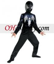 L'incredibile spiderman Black-Suited Costume spiderman Bambino