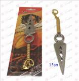 D Naruto hollow knife buckle (gold)