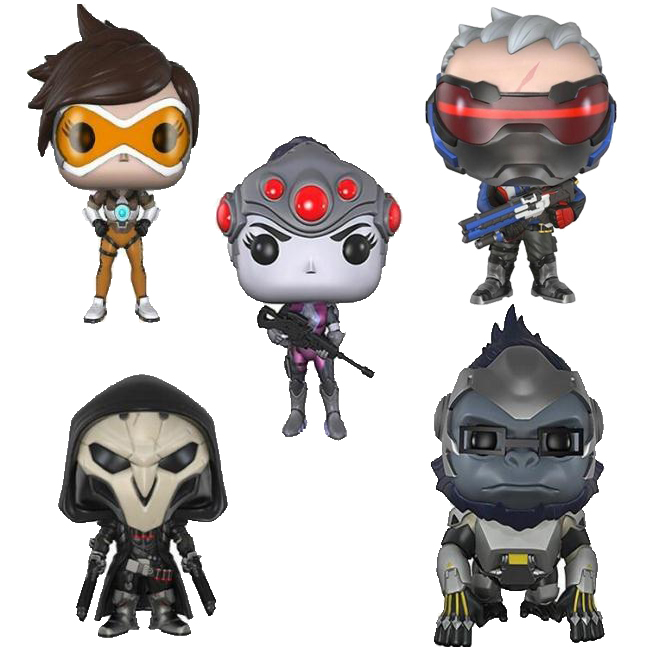 Overwatch Cartoon Cartoon Version Pvc Action Figure