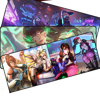 Ow Overwatch Whole Cute Mouse Mat Oversize Gaming Mouse Pad (A variety of styles)