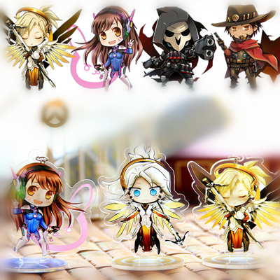 Overwatch Cartoon Version Acrylic Car Decoration (A variety of styles)