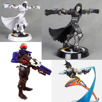 Overwatch Ow Action Figures Pvc Statue Toy Gift Collectible (A variety of styles)