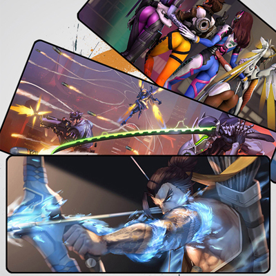 Overwatch Large Durable Mouse Pad Gaming Mat Factory Store (A variety of styles)