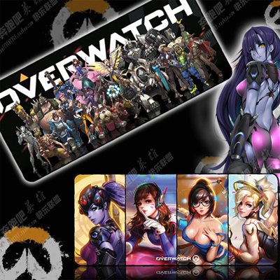 Overwatch Large Durable Gaming Mat OW Factory Store (A variety of styles)