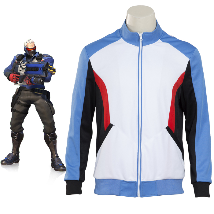 Overwatch Soldier 76 Jacket Clothing Cosplay