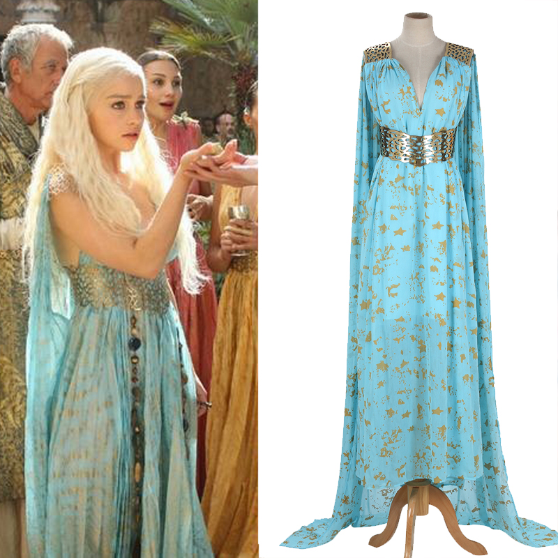 Game of Thrones Daenerys Qarth Cosplay Costume