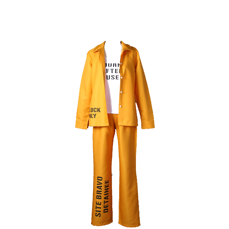Suicide Squad Harley Quinn Prison service Cosplay Costume