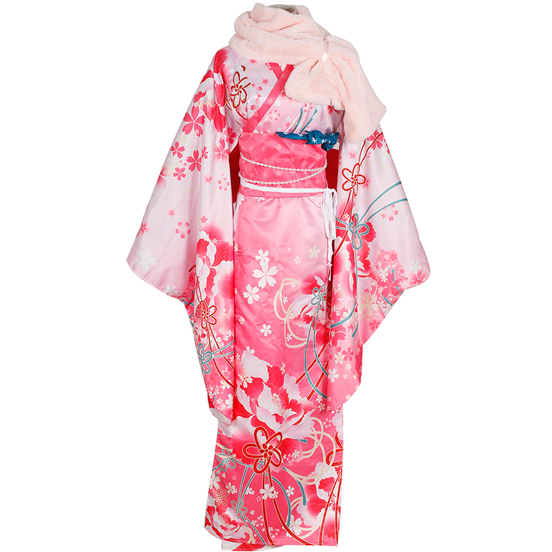 Love Live!School Idol Project Nico Yazawa Kimono Cosplay Costume