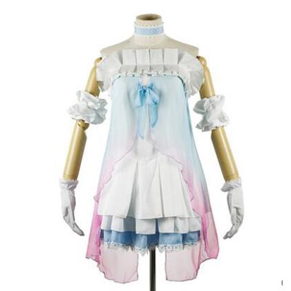 Love Live!Kotori Minami Strapless Dresses Cosplay Costume