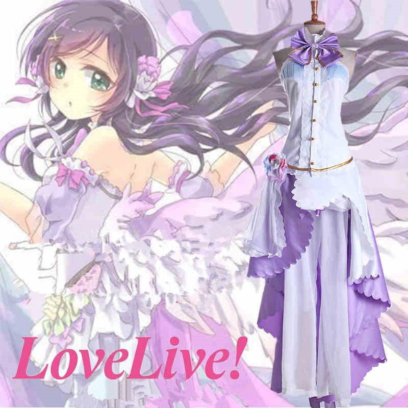 Love Live! Nozomi Tojo White Valentine\'s Day Cosplay Costume