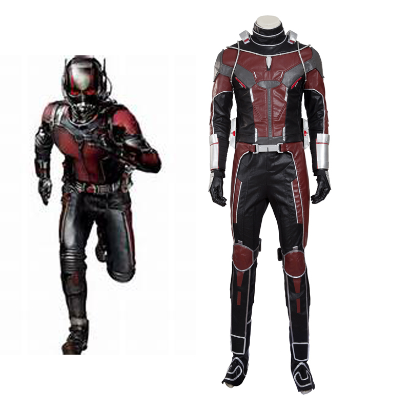 Marvel Comics Ant-Man Cosplay Costume Deluxe Edition(Without Helmet)