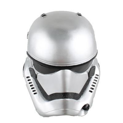Movie Star Wars Helmet Movie Accessories(Silver)