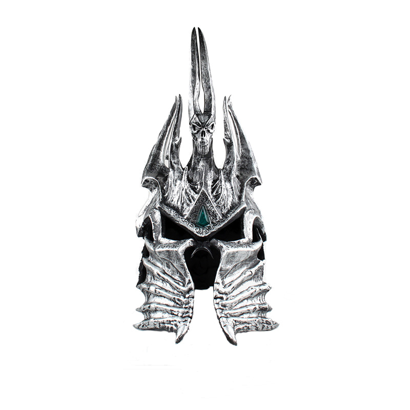 World of Warcraft Arthas Menethil Helmet Movie Accessories