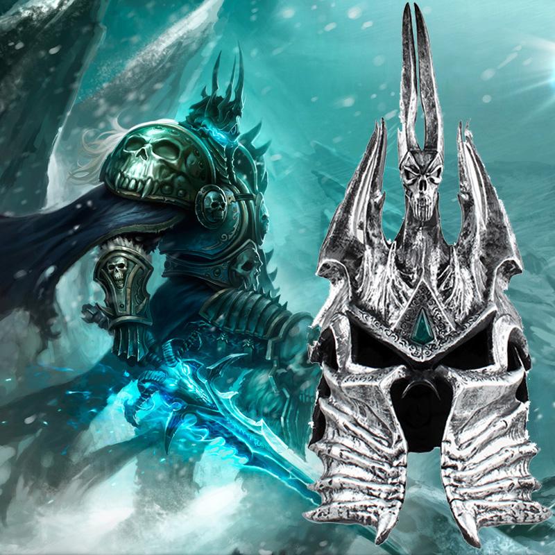 World of Warcraft Arthas Menethil Helmet Movie Accessories