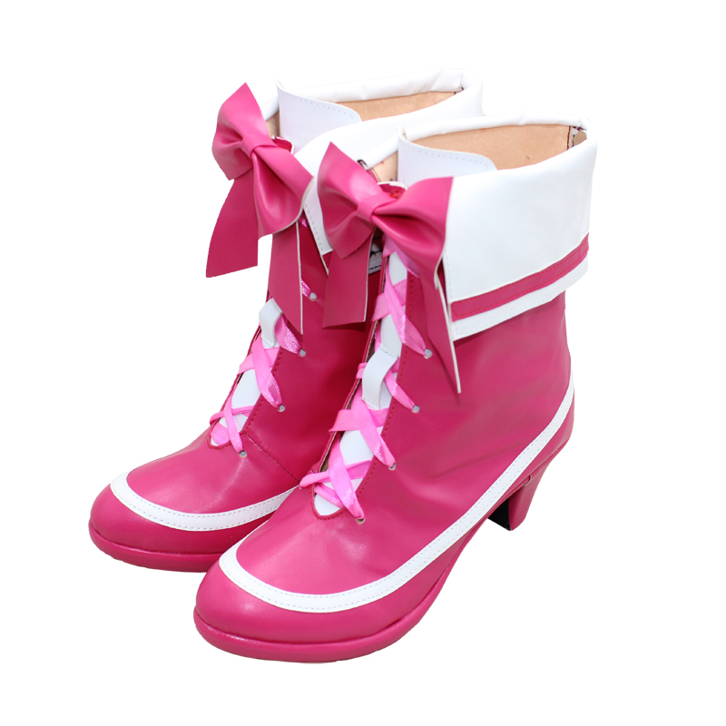 Smile Precure! Pretty Cure Cure Melody Cosplay Boots Shoes