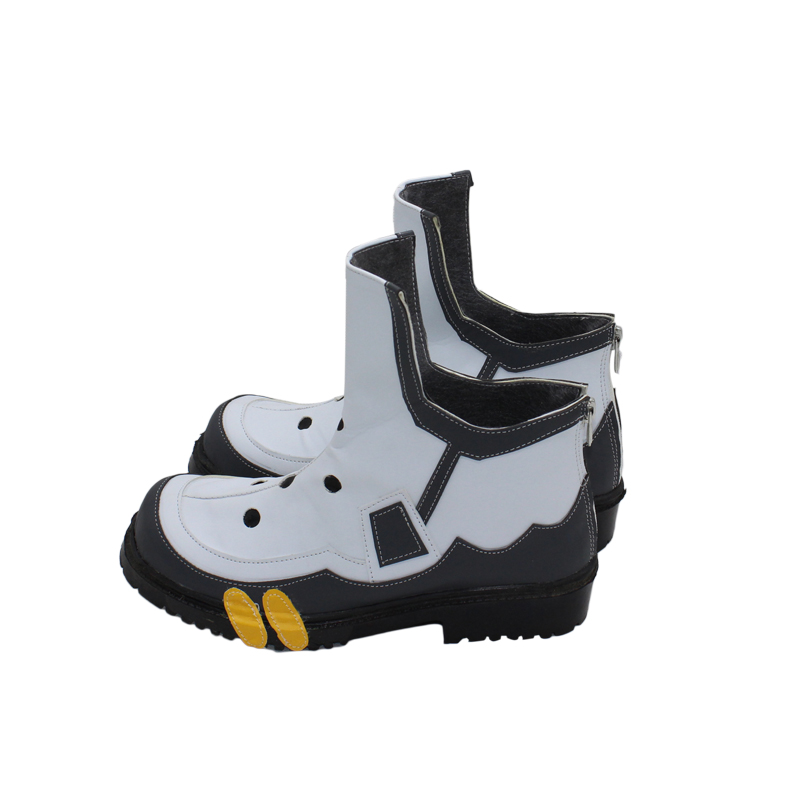 Overwatch OW Tracer Cosplay White Boots Unisex Shoes