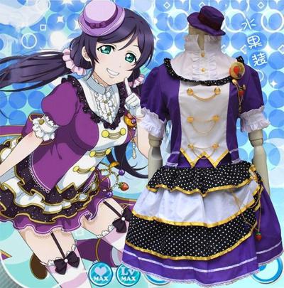 Anime Love Live!Tojo Nozomi Fruit Princess Dress Cosplay Costume