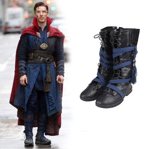2016 Movie Doctor Strange Stephen Steve Vincent Cosplay Boots